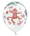 Dierentuin dieren ballonnen 6 stuks