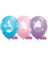 Disney princess ballonnen 6 stuks