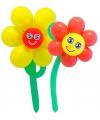 Doe het zelf ballon set bloemen