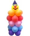 Doe het zelf ballon set clown