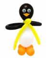 Doe het zelf ballon set pinguin