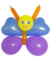 Doe het zelf ballon set vlinder