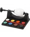 Eieren schilder set inclusief houder met verf en kwast