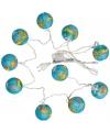 Feestverlichting 10 wereldbolletjes