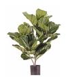 Ficus kunstplant 70 cm in pot voor binnen buiten