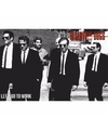 Filmposter reservoir dogs lets go to work 91 x 61 cm