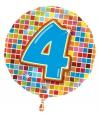 Folie ballon 4 jaar
