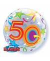 Folie ballon 50 jaar 56 cm