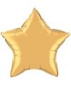 Folie ballon gouden ster 50 cm