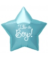 Folie ballon its a boy ster