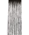 Folie deurgordijn zwart 244 x 91 cm