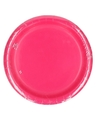 Fuchsia roze borden 23 cm