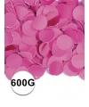 Fuchsia roze confetti 600 gram