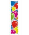 Gekleurde ballonnen banner 60 x 300 cm