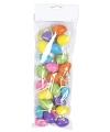 Gekleurde paaseieren 24 stuks