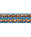 Gekleurde waaier slinger 5 m