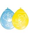 Gekleurde woezel en pip ballonnen