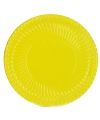 Gele bordjes 10 stuks