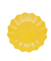 Gele diepe borden 27 cm