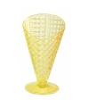 Gele ijscoupe 9 2 cm