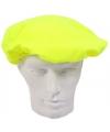 Gele pieten baret voor volwassenen