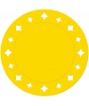 Gele placemats 33 cm