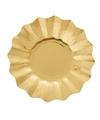 Gouden diepe bordjes 21 cm