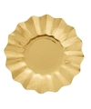 Gouden diepe bordjes 27 cm