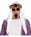Gouden sultan tulband met sjerp