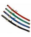 Groen ninja zwaard van plastic 60 cm