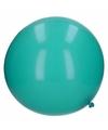 Grote ballon 65 cm groenblauw