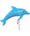Grote folie ballon dolfijn 94 cm