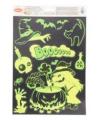 Halloween raamstickers heksen