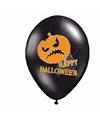 Happy halloween ballonnen 6 stuks