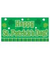Happy st patricks day groen banner