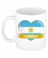Hartje argentinie mok beker 300 ml
