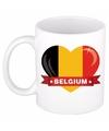 Hartje belgie mok beker 300 ml
