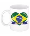 Hartje brazilie mok beker 300 ml