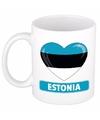Hartje estland mok beker 300 ml