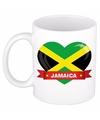 Hartje jamaica mok beker 300 ml