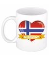 Hartje noorwegen mok beker 300 ml