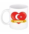 Hartje turkije mok beker 300 ml