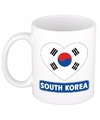 Hartje zuid korea mok beker 300 ml
