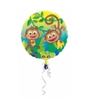 Helium ballon jungle apen 43 cm