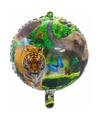 Helium ballon safari dieren 45 cm