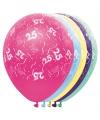 Helium leeftijd ballonnen 25 jaar
