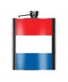 Heupfles franse vlag 200 ml