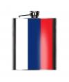Heupfles russische vlag 200 ml