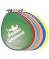 Hoera geslaagd ballonnen 8 stuks