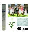 Huwelijk rozenblaadjes shooter 40 cm